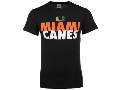 Miami Hurricanes NCAA Men's Verb Stack T-Shirt