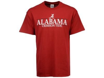 Alabama Crimson Tide  NCAA Men's Line Stack T-Shirt