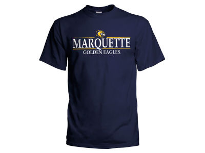 Marquette Golden Eagles  NCAA Men's Line Stack T-Shirt