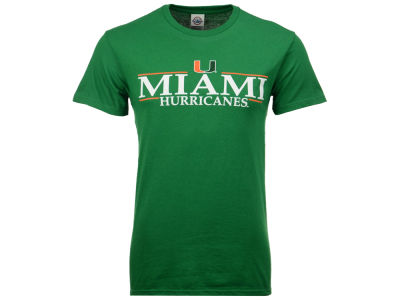 Miami Hurricanes  NCAA Men's Line Stack T-Shirt