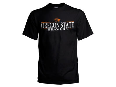 Oregon State Beavers  NCAA Men's Line Stack T-Shirt