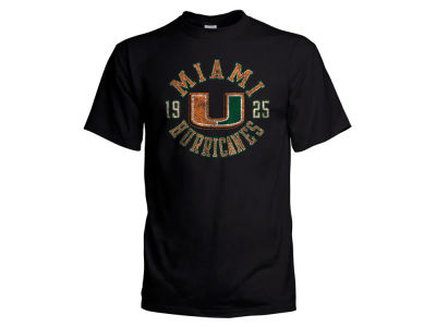 Miami Hurricanes NCAA Men's Vintage Circle T-Shirt