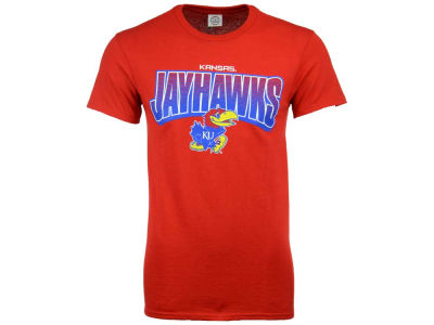 Kansas Jayhawks NCAA Men's Volume Arch T-Shirt