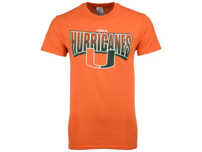 Miami Hurricanes NCAA Men's Volume Arch T-Shirt