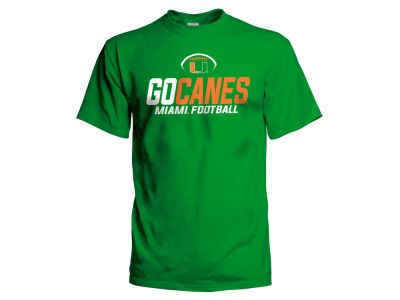Miami Hurricanes NCAA Men's Sport Stack T-Shirt