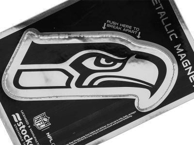 Seattle Seahawks 3x5 Metallic Magnet