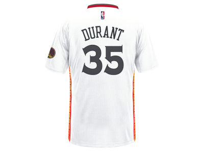 Golden State Warriors Kevin Durant adidas NBA Men's Chinese New Year Swingman Jersey