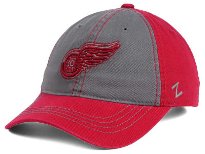 Detroit Red Wings Zephyr NHL Storm Front Easy Adjustable Cap