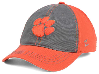 Clemson Tigers Zephyr NCAA Storm Front Easy Adjustable Cap