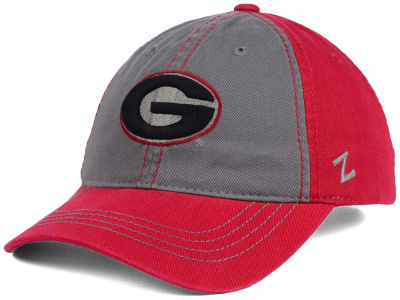 Georgia Bulldogs Zephyr NCAA Storm Front Easy Adjustable Cap