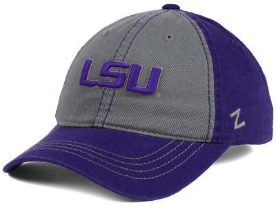 LSU Tigers Zephyr NCAA Storm Front Easy Adjustable Cap