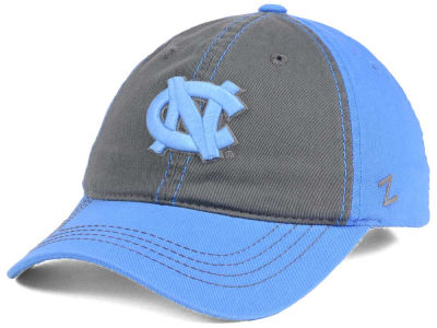 North Carolina Tar Heels Zephyr NCAA Storm Front Easy Adjustable Cap