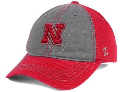 Nebraska Cornhuskers Zephyr NCAA Storm Front Easy Adjustable Cap
