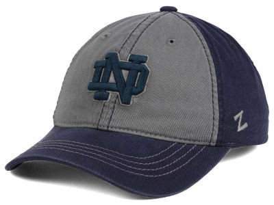 Notre Dame Fighting Irish Zephyr NCAA Storm Front Easy Adjustable Cap
