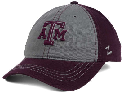 Texas A&M Aggies Zephyr NCAA Storm Front Easy Adjustable Cap