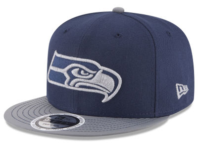 Seattle Seahawks New Era NFL Reflective Embroidery and Visor 9FIFTY Cap