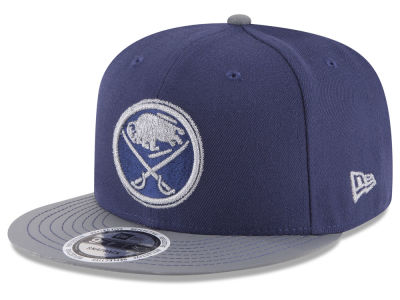 Buffalo Sabres New Era NHL Reflective Embroidery and Visor 9FIFTY Snapback Cap
