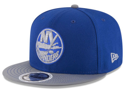 New York Islanders New Era NHL Reflective Embroidery and Visor 9FIFTY Snapback Cap
