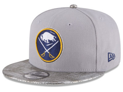 Buffalo Sabres New Era NHL Croc Visor 9FIFTY Snapback Cap