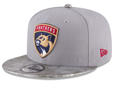 Florida Panthers New Era NHL Croc Visor 9FIFTY Snapback Cap