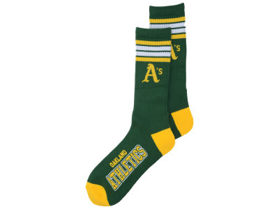 Oakland Athletics 4 Stripe Deuce Crew 504 Sock