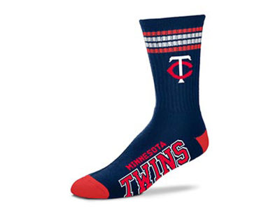 Minnesota Twins 4 Stripe Deuce Crew 504 Sock