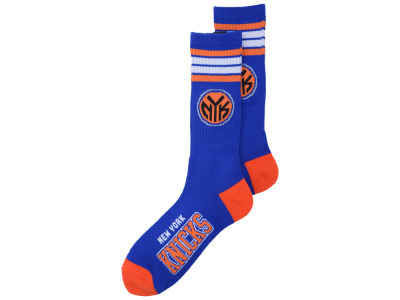 New York Knicks 4 Stripe Deuce Crew 504 Sock