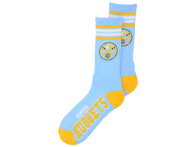 Denver Nuggets 4 Stripe Deuce Crew 504 Sock