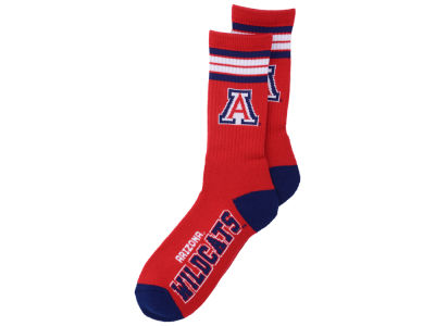 Arizona Wildcats 4 Stripe Deuce Crew 504 Sock