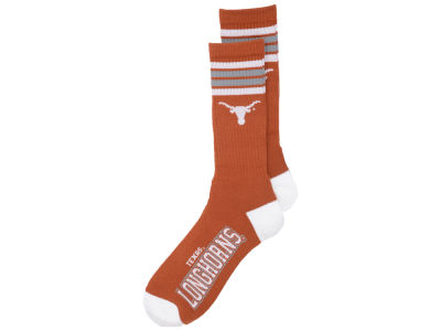 Texas Longhorns 4 Stripe Deuce Crew 504 Sock