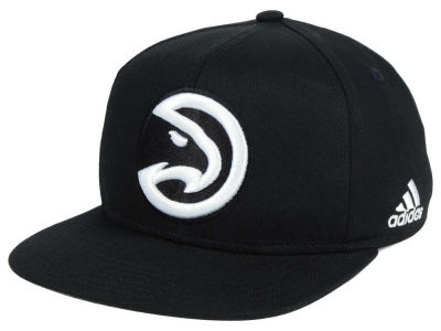 Atlanta Hawks Outerstuff NBA Kids Black and White Snapback Cap