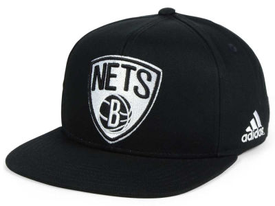 Brooklyn Nets Outerstuff NBA Kids Black and White Snapback Cap