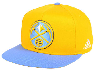 Denver Nuggets Outerstuff NBA Kids XL 2-Color Snapback Cap