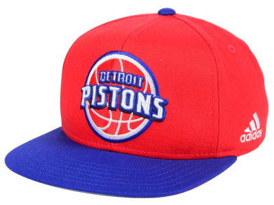 Detroit Pistons Outerstuff NBA Kids XL 2-Color Snapback Cap