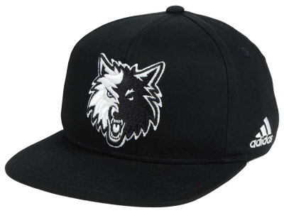 Minnesota Timberwolves Outerstuff NBA Kids Black and White Snapback Cap