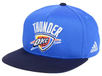 Oklahoma City Thunder Outerstuff NBA Kids XL 2-Color Snapback Cap