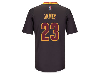 Cleveland Cavaliers Lebron James adidas NBA Men's Champs Swingman Jersey