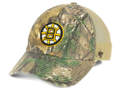 Boston Bruins '47 NHL '47 Sawgrass CLEAN UP Cap