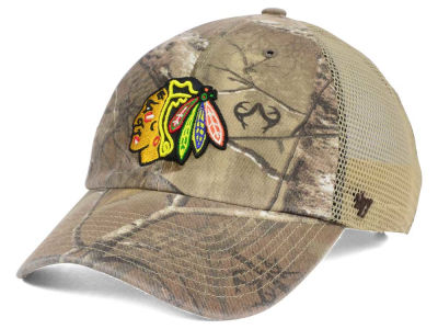 Chicago Blackhawks '47 NHL '47 Sawgrass CLEAN UP Cap