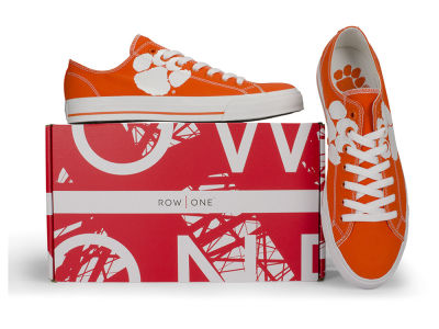 Clemson Tigers Row One NCAA Victory Sneakers