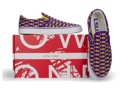 LSU Tigers Row One NCAA Prime Sneakers