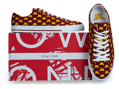 Minnesota Golden Gophers Row One NCAA Victory Sneakers