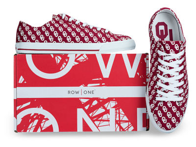 Oklahoma Sooners Row One NCAA Victory Sneakers