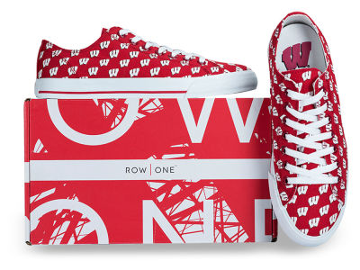 Wisconsin Badgers Row One NCAA Victory Sneakers