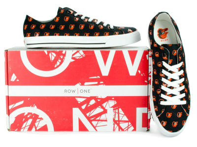 Baltimore Orioles Row One MLB Victory Sneakers