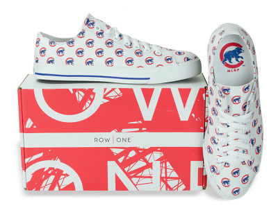 Chicago Cubs Row One MLB Victory Sneakers