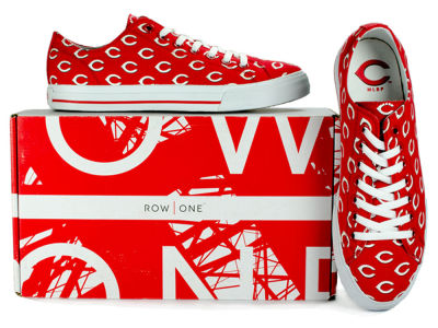 Cincinnati Reds Row One MLB Victory Sneakers