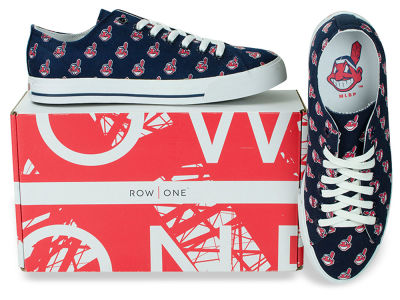Cleveland Indians Row One MLB Victory Sneakers
