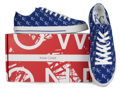 Kansas City Royals Row One MLB Victory Sneakers