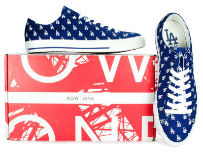 Los Angeles Dodgers Row One MLB Victory Sneakers